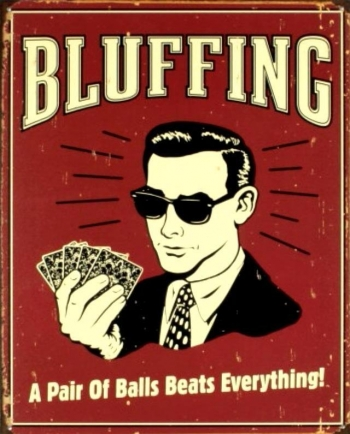 5 Types of Bluff in NLH Poker