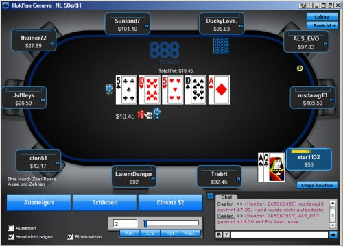 888 Poker Support Hotline