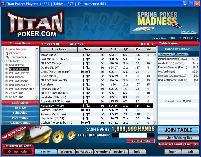 titan poker paysafecard