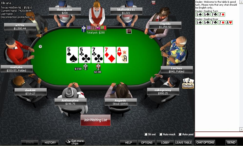 Poker victor chandler
