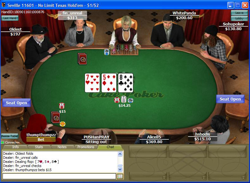 Cake Poker Room Review - View on Poker